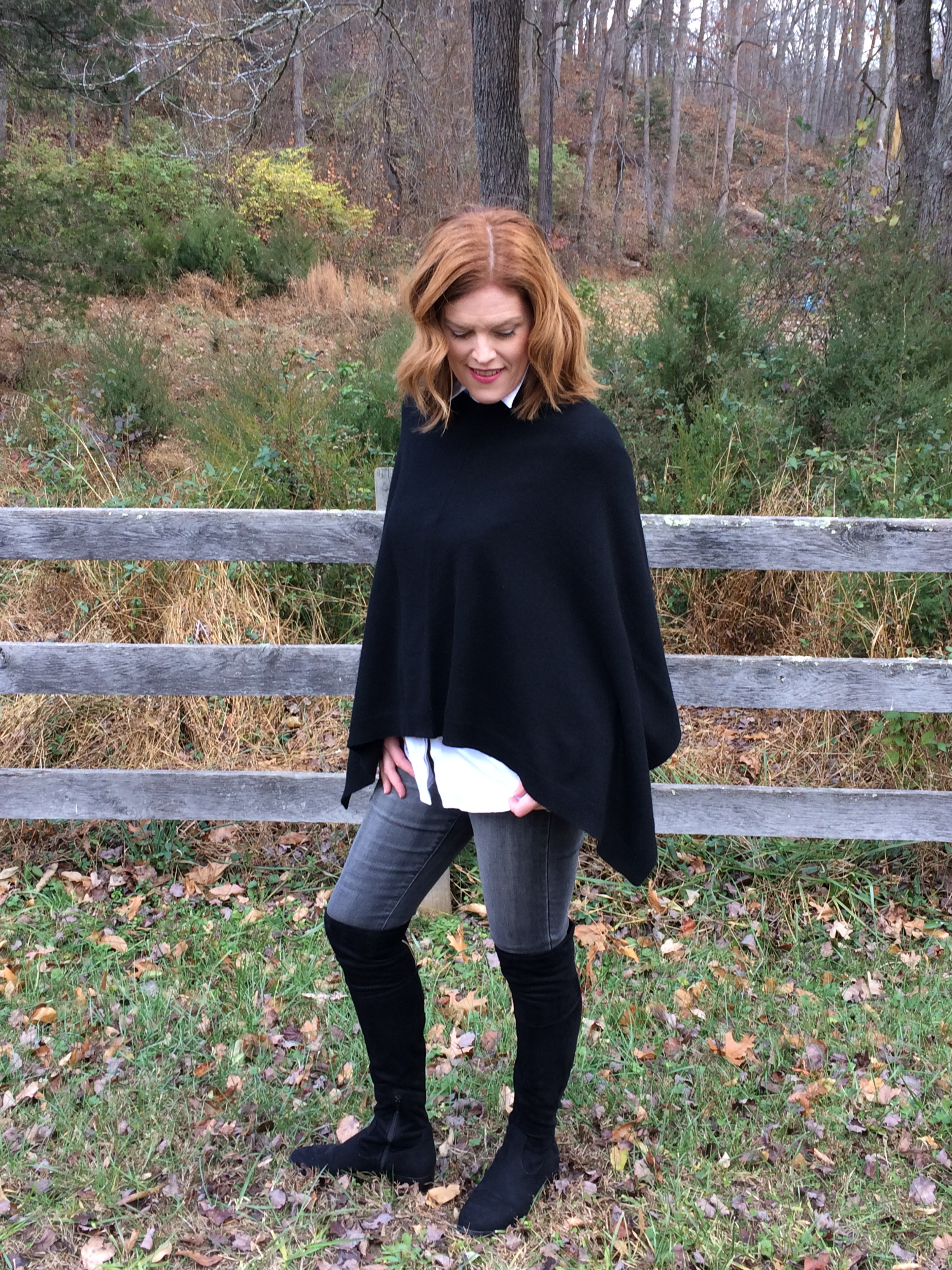 Caashmere Poncho Sweater
