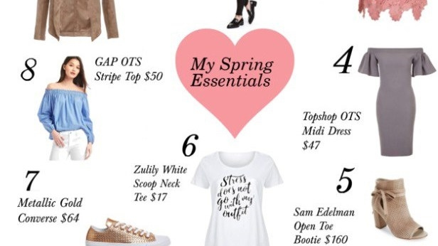 French Chic Spring Essentials