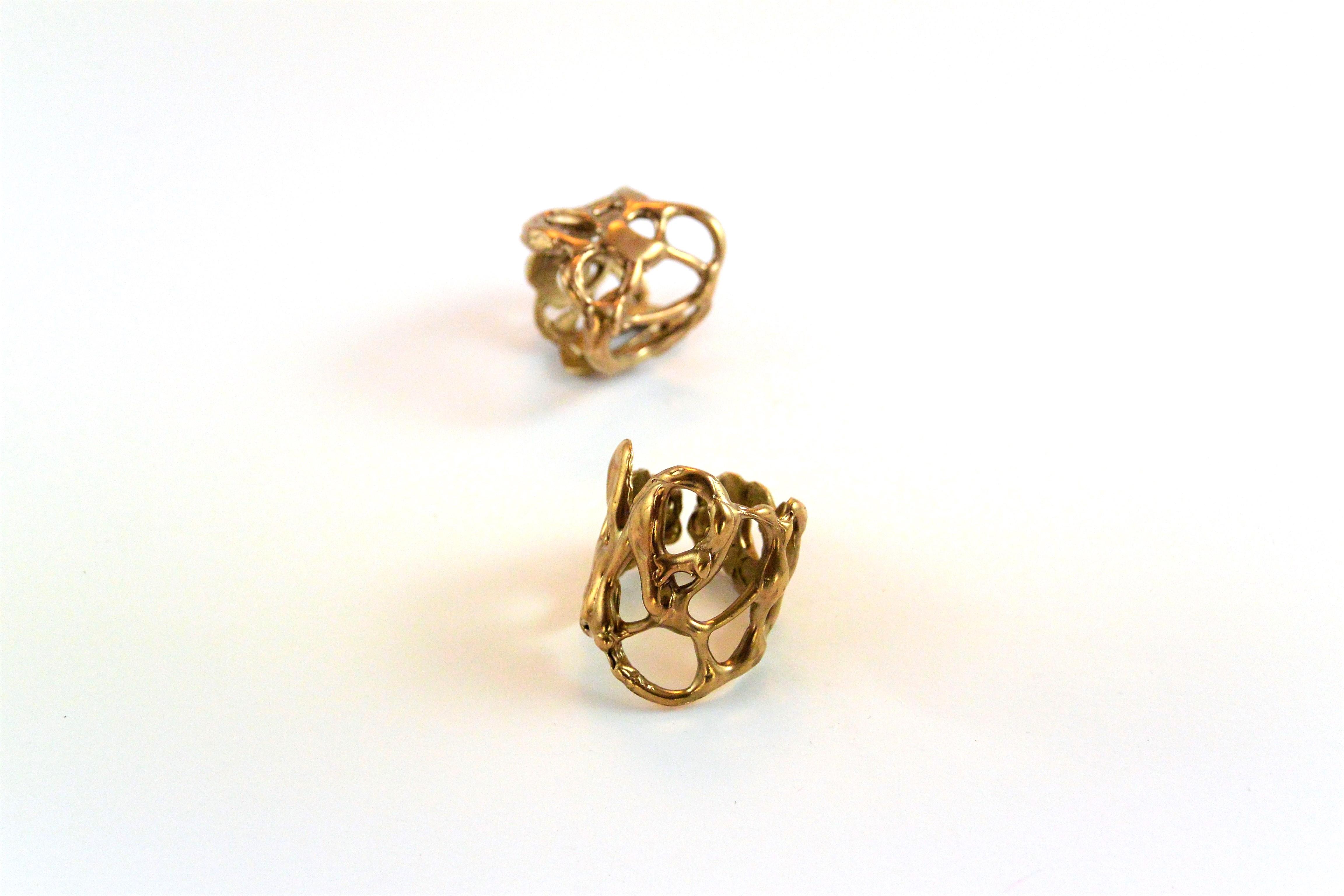 Eleonora Ghilardi Bronze Rings