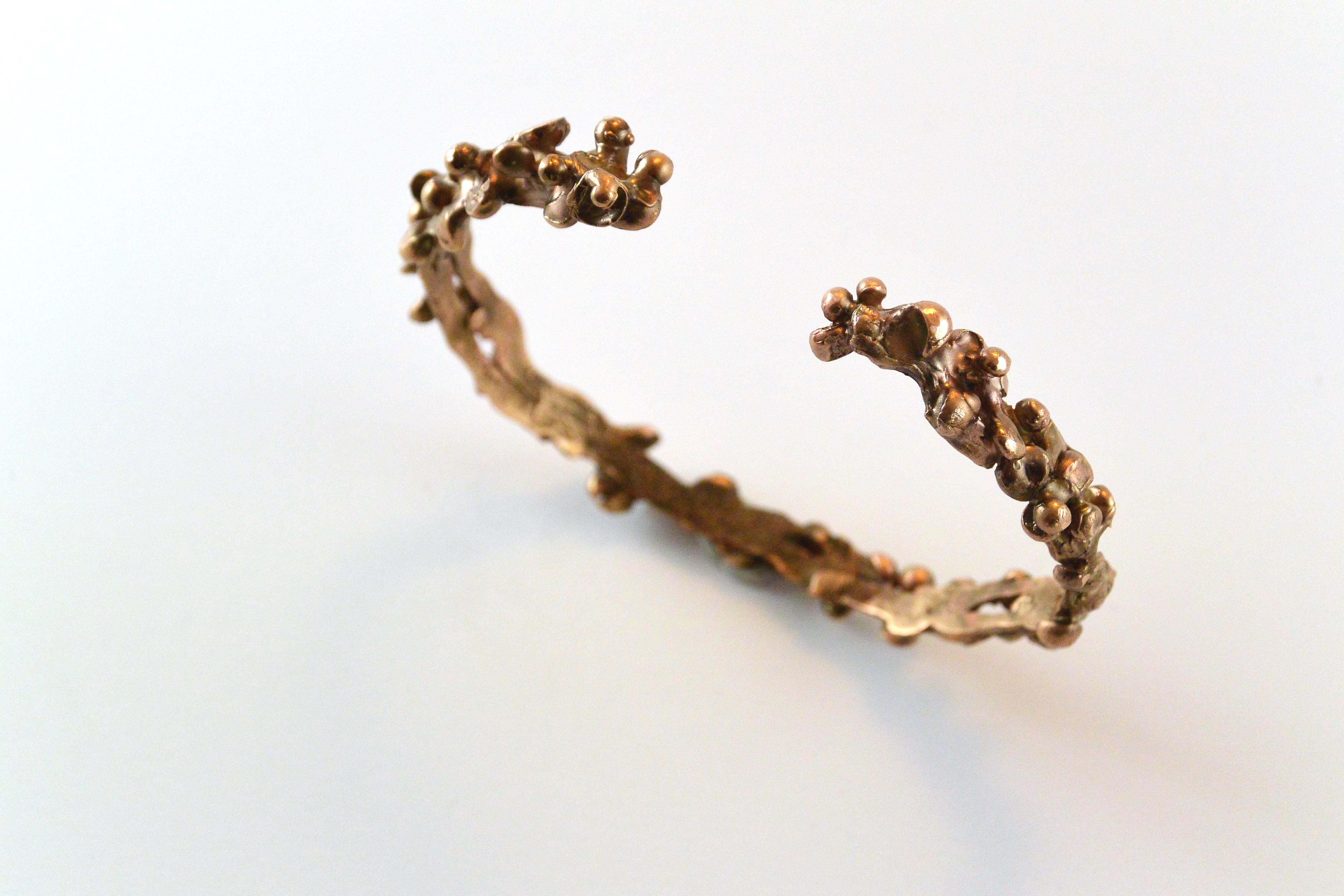 Eleonora Ghilardi Red Bronze Bracelet