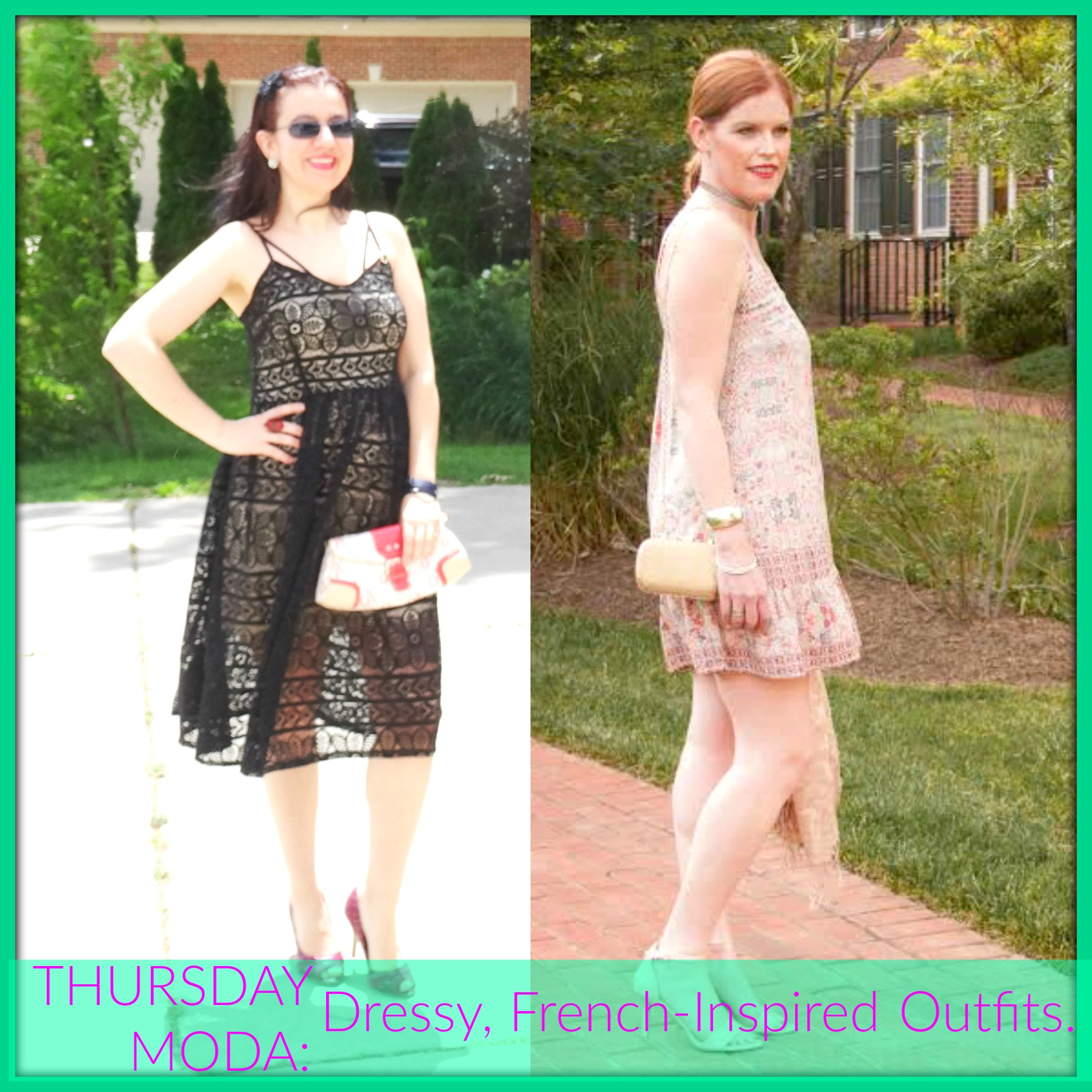 French Chic Outfits and Thursday Moda