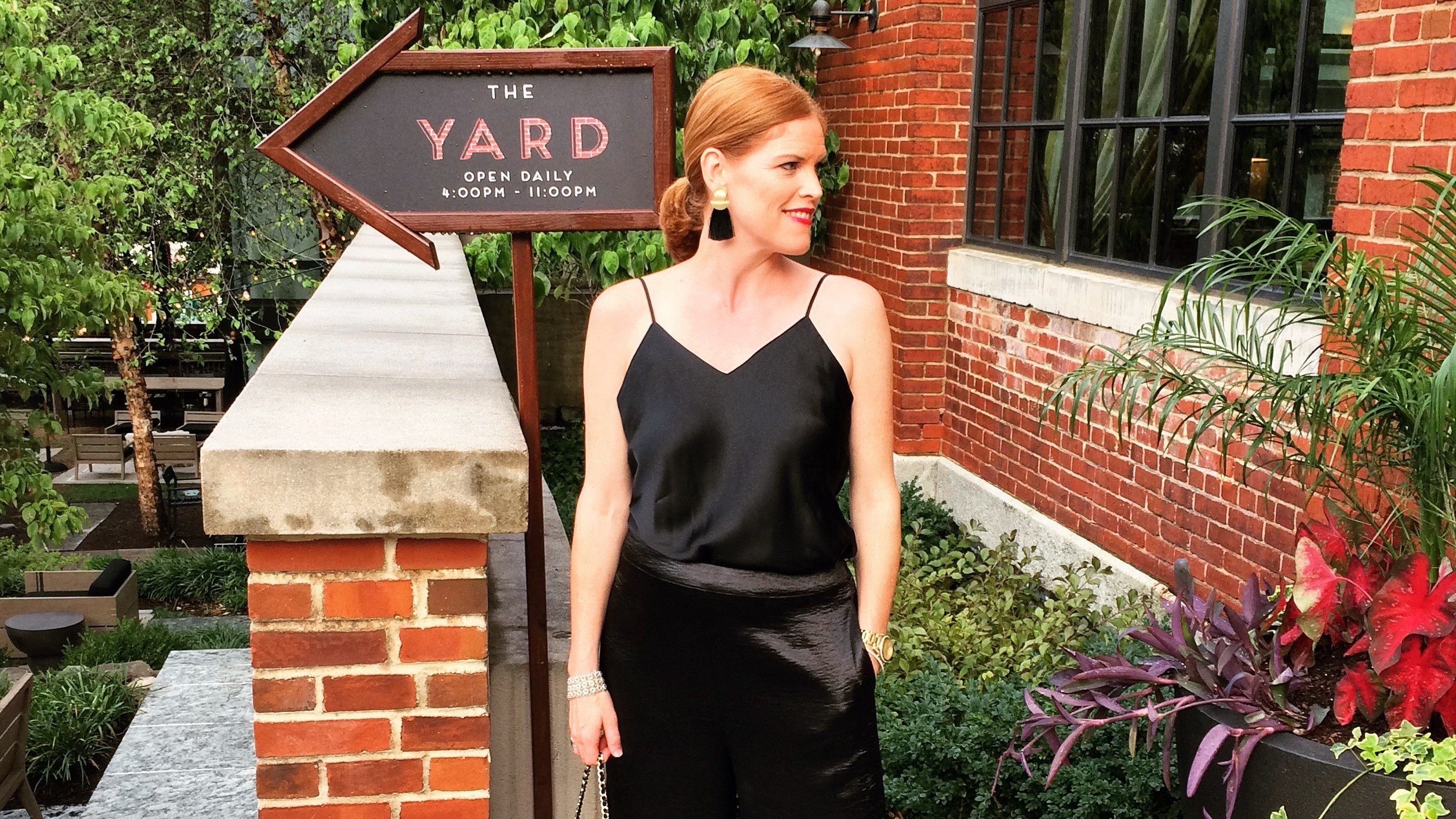 Bites & Cocktails in Georgetown: The Yard at the Ritz-Carlton