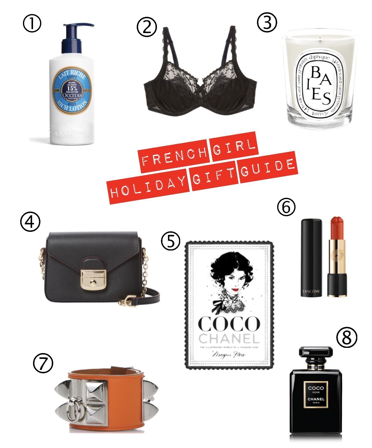 2017 French Girl's Holiday Gift Guide