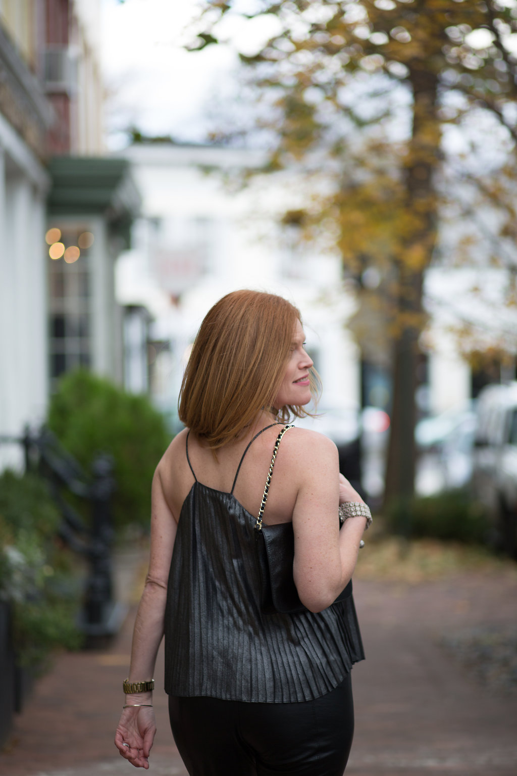 Effortless French Chic New Year's Eve Outfit