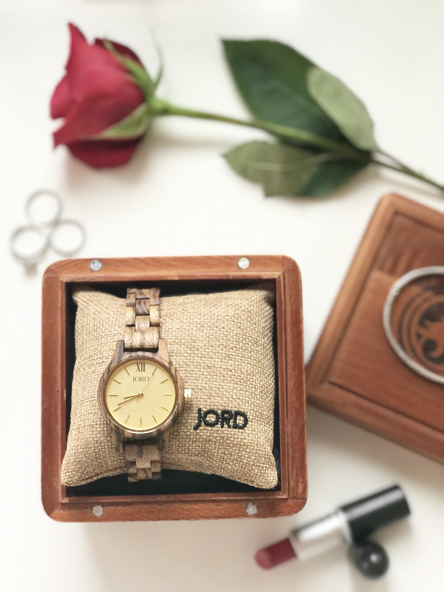 My Latest French Chic Essential: The JORD Zebrawood Watch + A Giveaway!