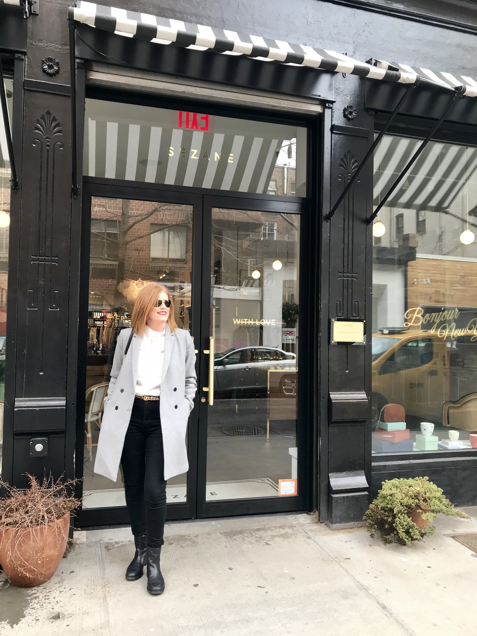 Bon & Chic Style Blogger at NYFW Fall/Winter 2018