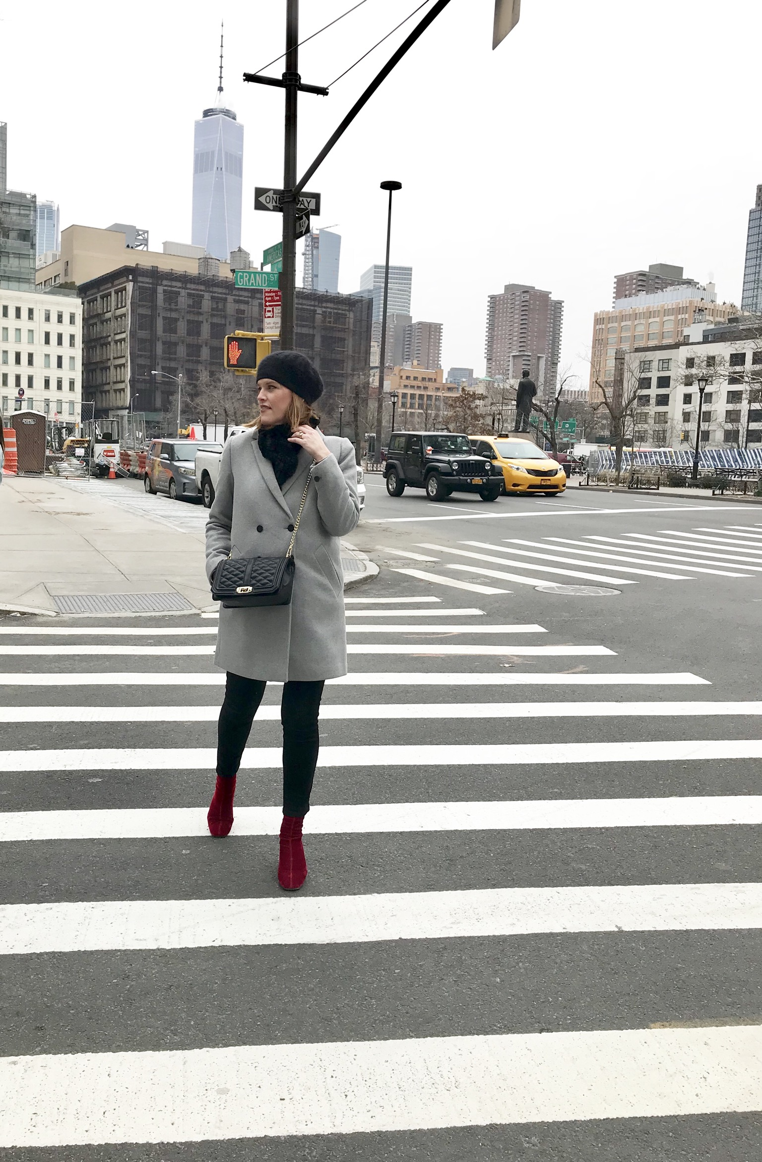 Bon & Chic Style Blogger at NYFW Fall/Winter 2018