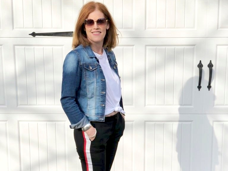 How to Style Stripe Track Pants The French Chic Way