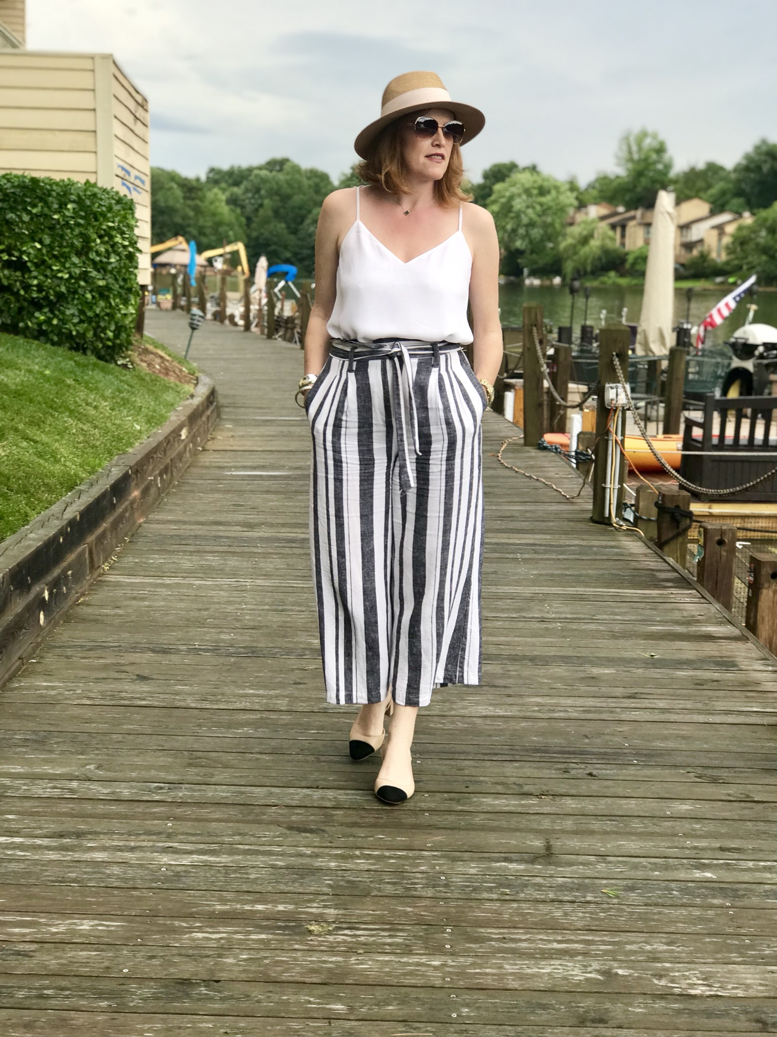 How to Style Culottes Pants the French Chic Way
