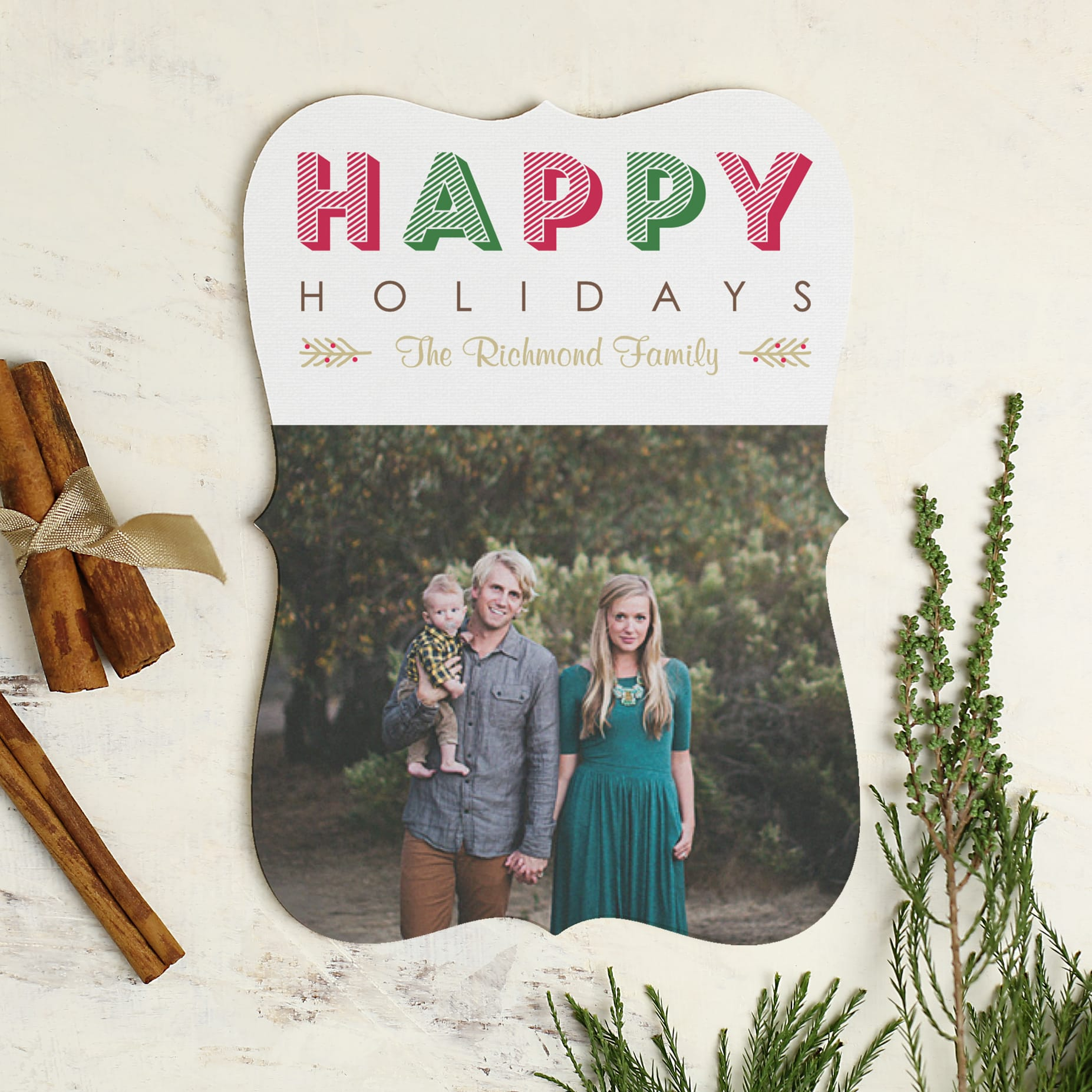 Chic & Cheap Holiday Cards with Basic Invite