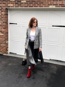 E ffortless French Chic Romantic Day-to-Night Outfit
