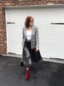 Effortless French Chic Romantic Day-to-Night Outfit