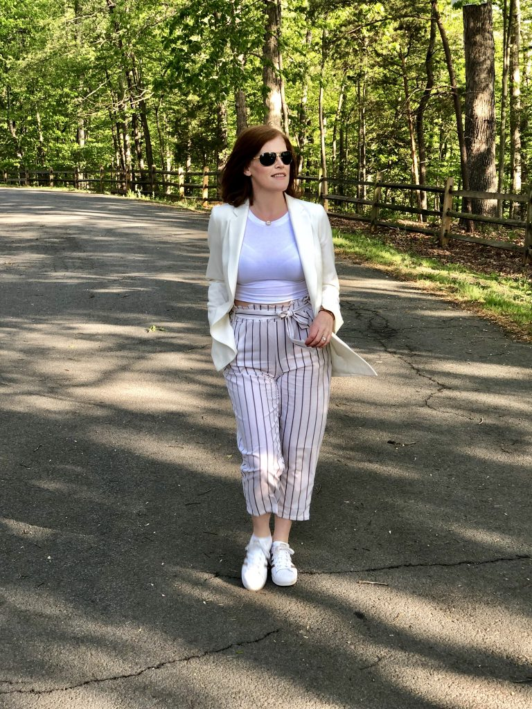 French ChicFrench Chic Summer Essential: Striped Paperbag Pants