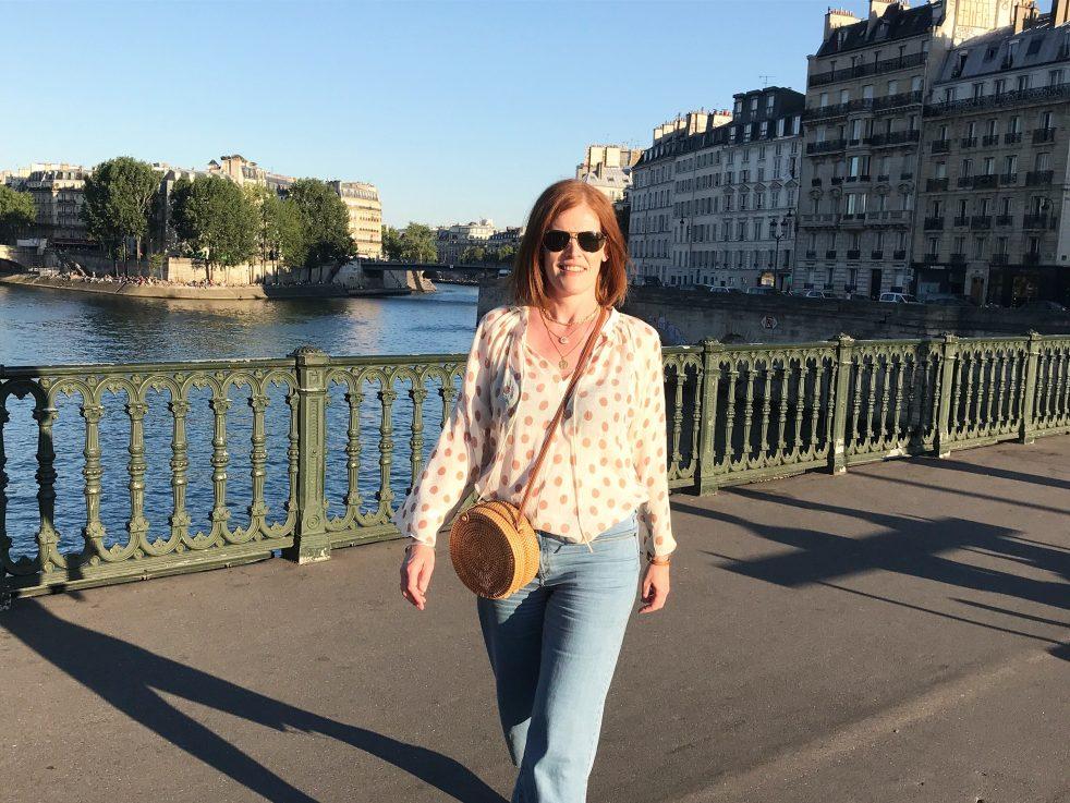 A Summer Evening Stroll in Paris