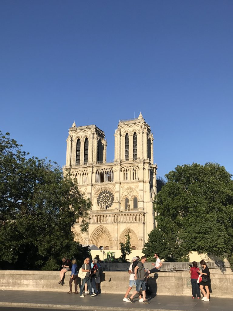 A Summer Evening Stroll in Paris