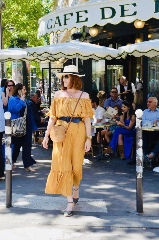 Parisian Chic Summer Dress Look