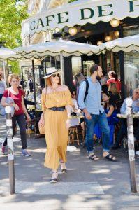 Parisian Chic Summer Dress Look