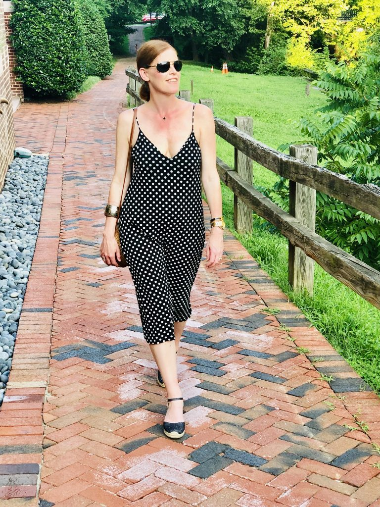 Bastille Day & The Polka Dot Slip Dress