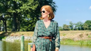 French Chic Fall Essential: The Printed Short Dress