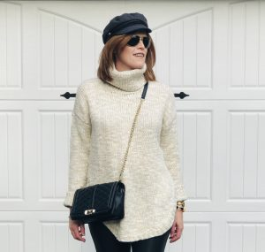 How to Style a Turtleneck the French Chic Way