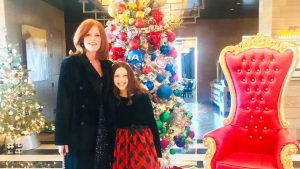 Sequin Holiday Dress & Light Up The Season Event