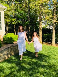 The Effortless Chic Little White Dress & Happy Mother's Day!