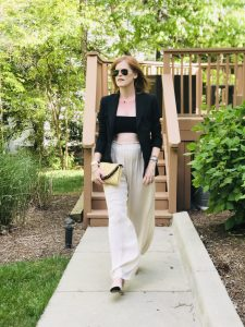 Summer Chic Capsule Wardrobe Essential: The Bandeau Top