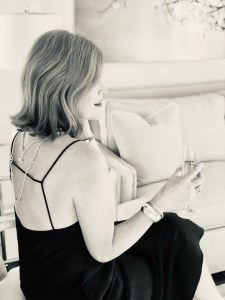Recovering from COVID-19 & French Chic Black Slip Dress