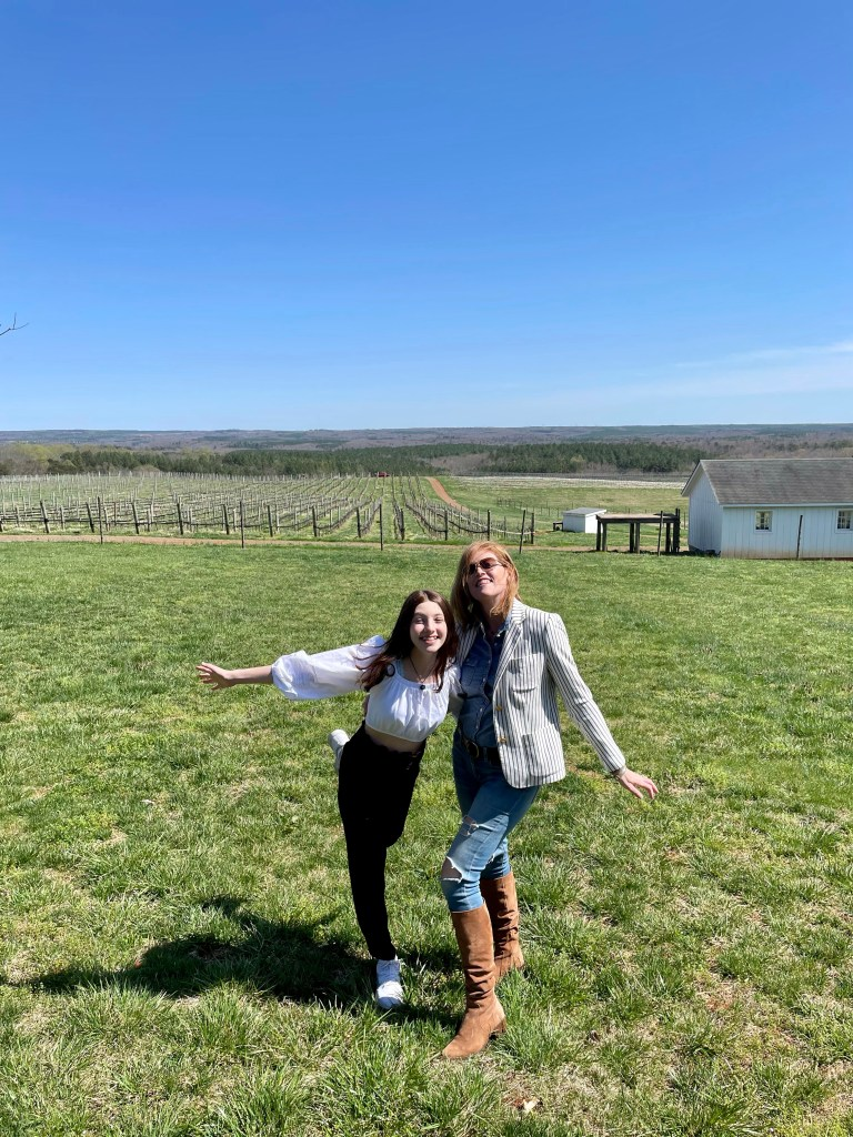 French Chic Spring Weekend Style in Virginia Wine Country